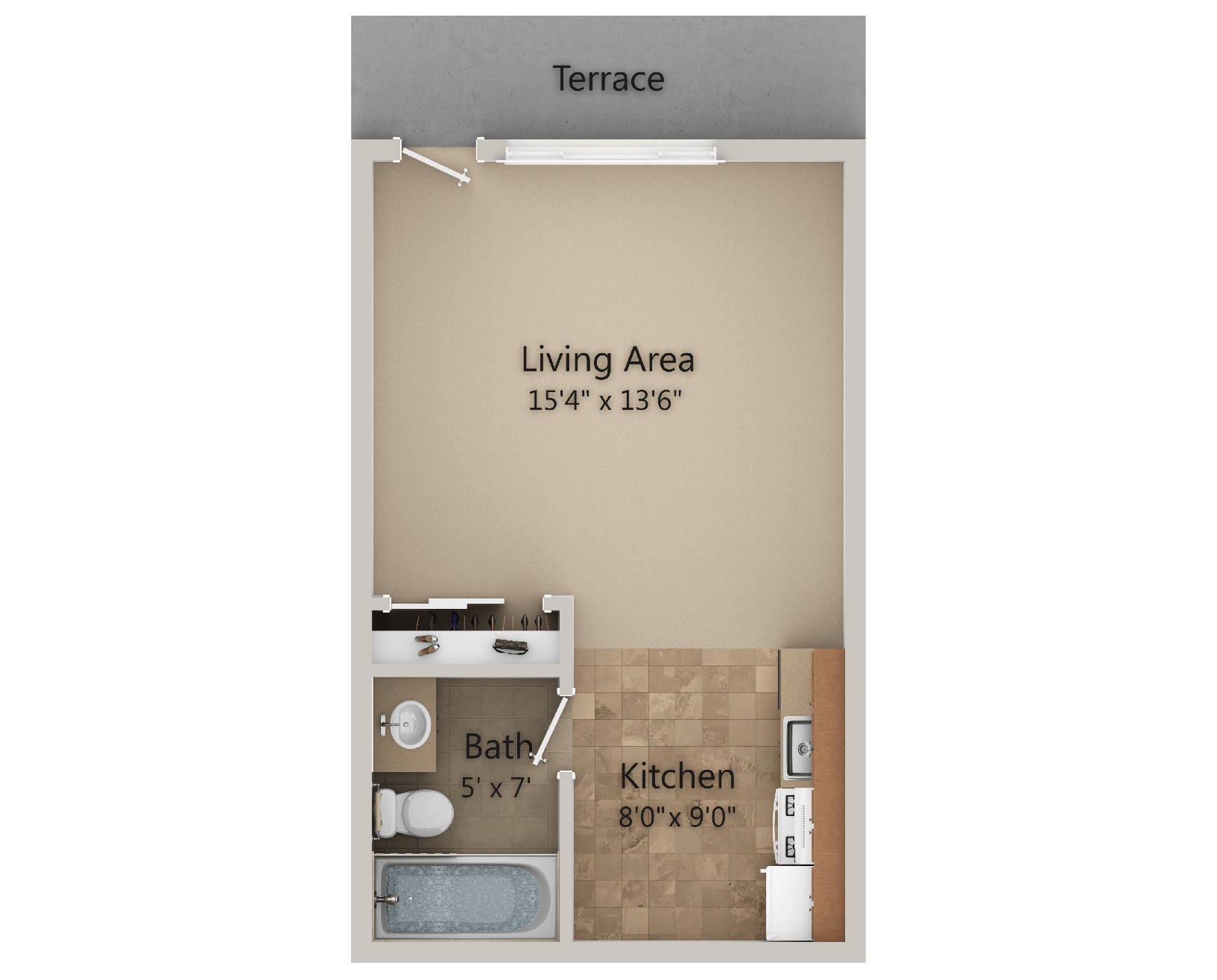 Valley View Apartments for Rent - Albany, NY - Floor Plans